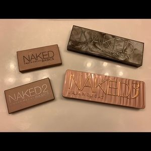 Urban Decay Naked3, Naked Smoky, Basics & Basics2